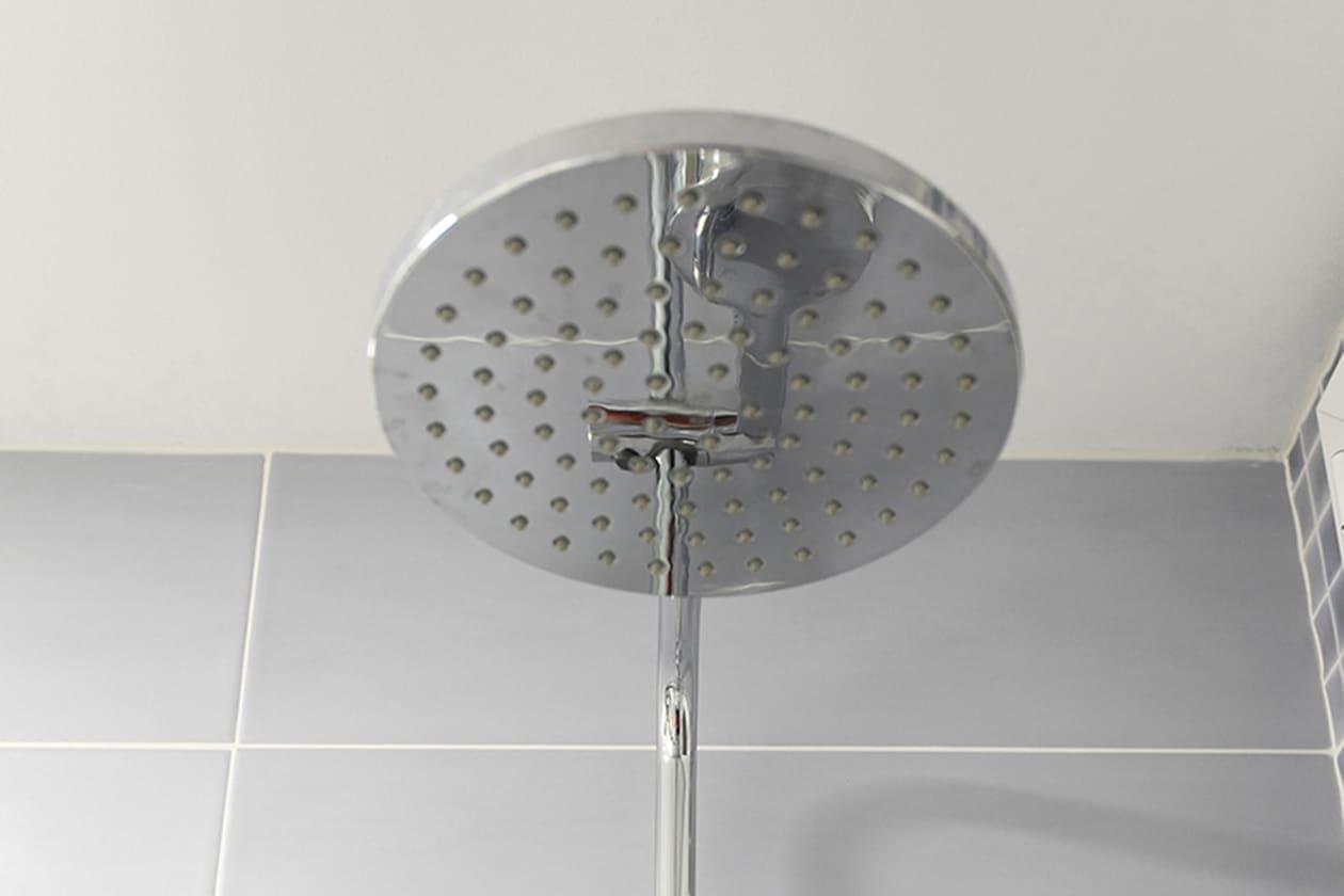 Alchachofa de ducha reformada
