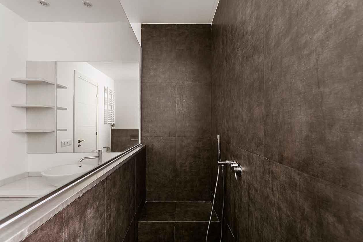 Ducha baño reformado