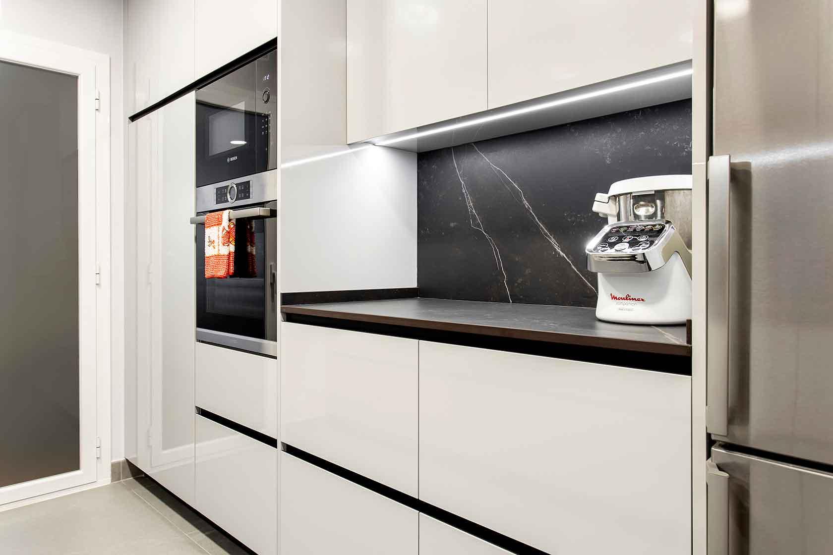 Encimera y horno cocina reformado