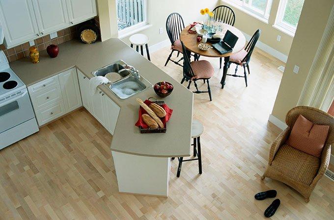 vista aerea de cocina