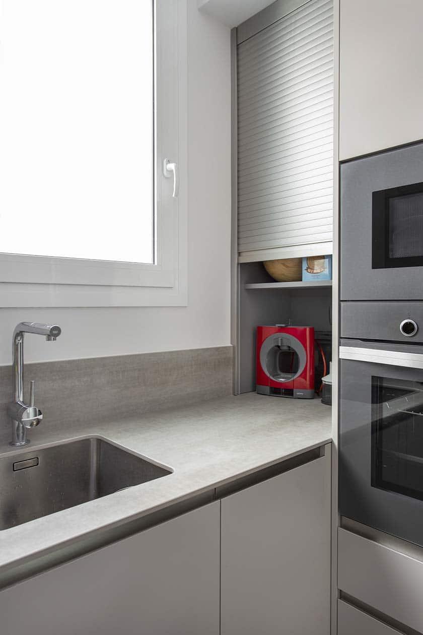 espacio de almacenamiento cocina