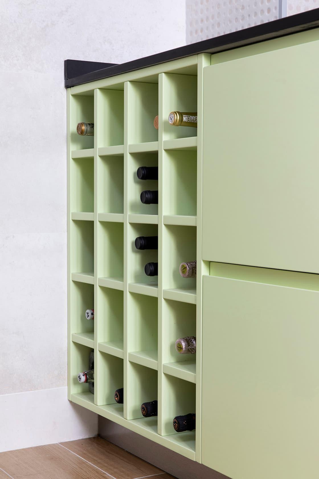 Espacio de almacenamiento verde
