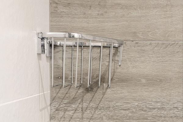 Estante almacenamiento de ducha