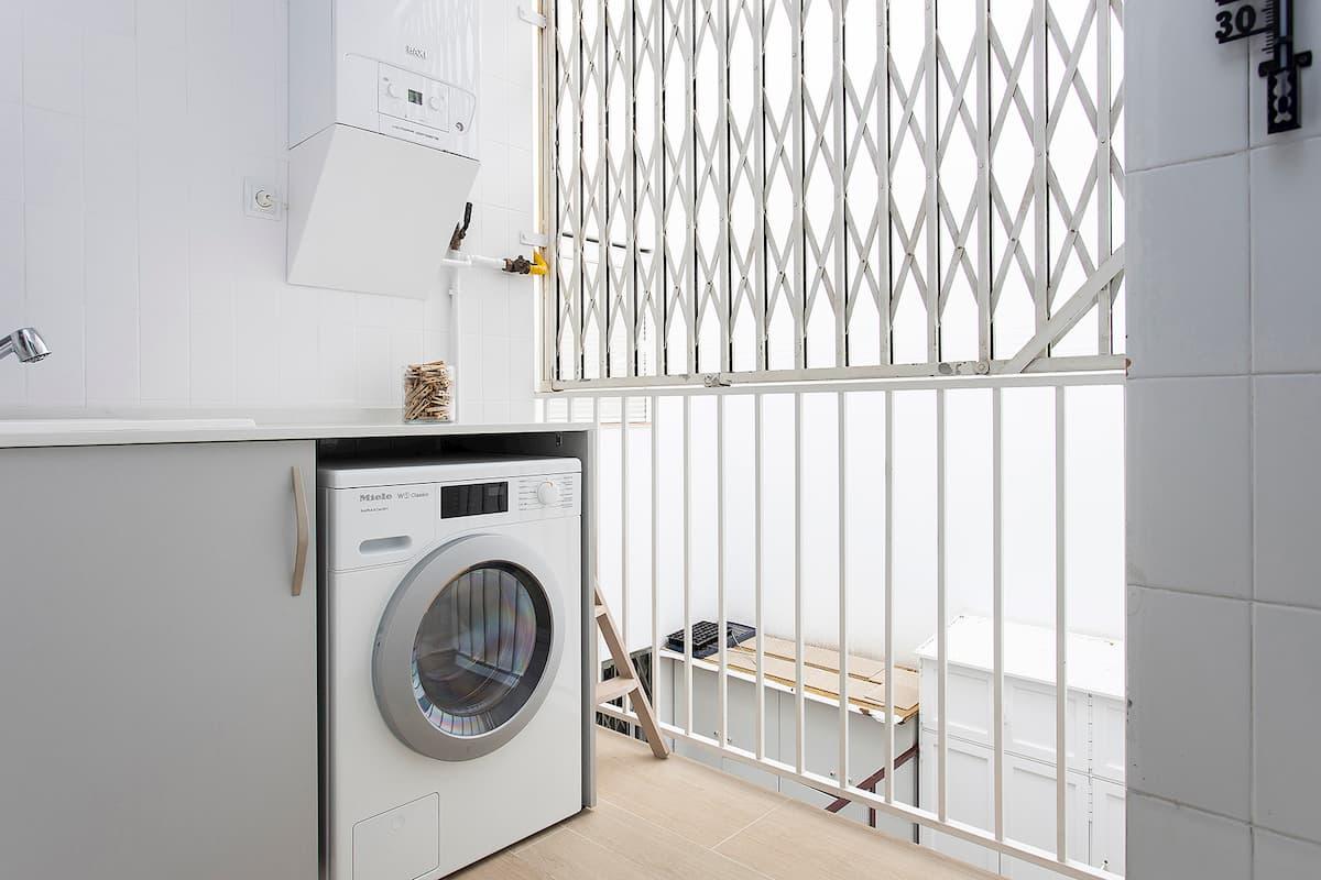 lavadora blanca