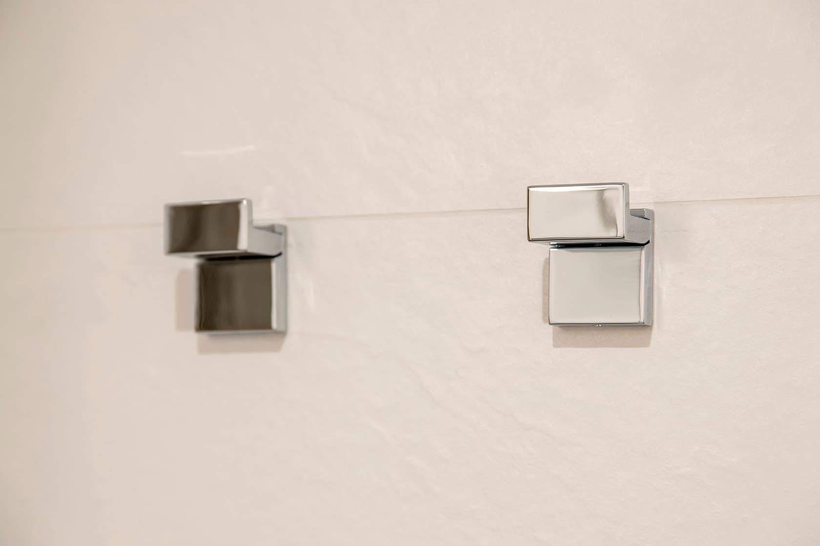 Colgadores pequeños metalizados