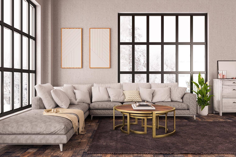 10 ideas de decoración para salones modernos en 2020 ... on Tendencias Cortinas Salon 2020  id=96601