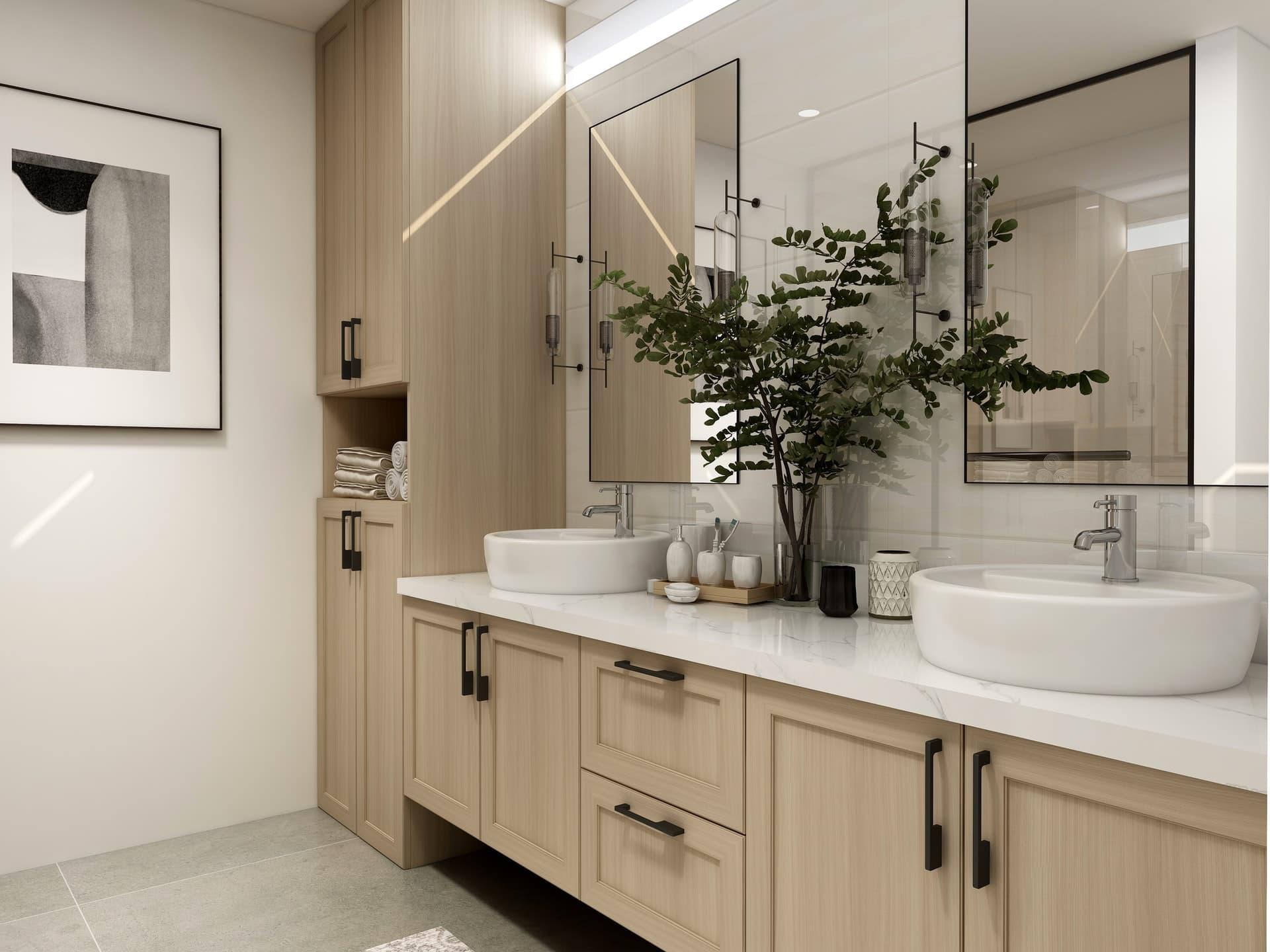 Baños en blanco, la tendencia ideal