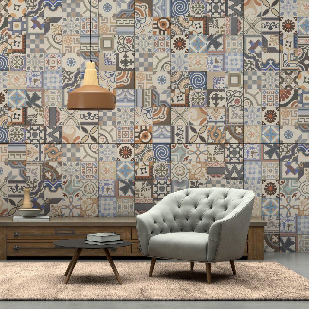 Ideas de paredes de azulejos