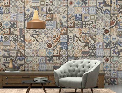 4 ideas de paredes de azulejos