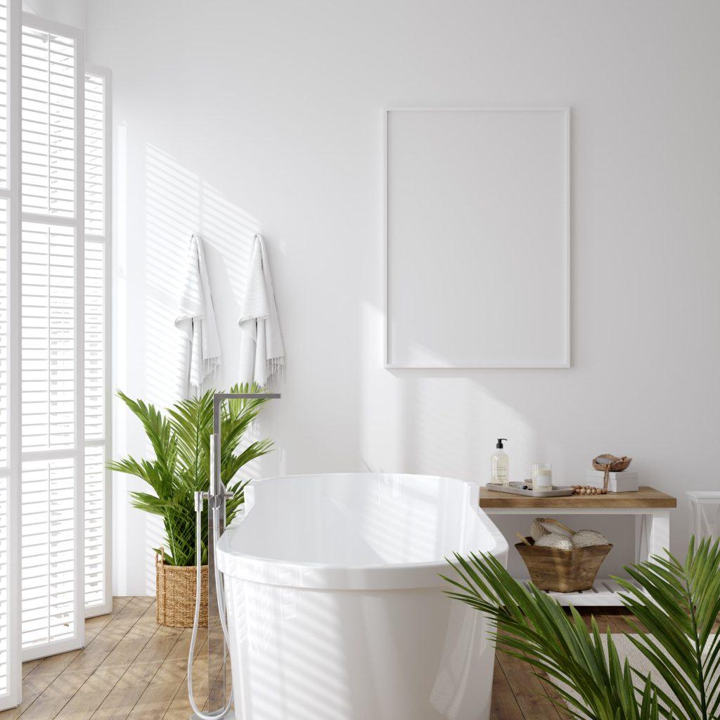Baños en blanco ideas
