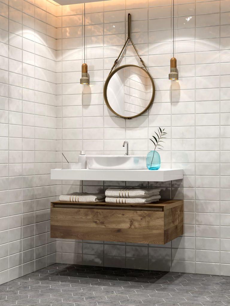 Ideas de baños en blanco