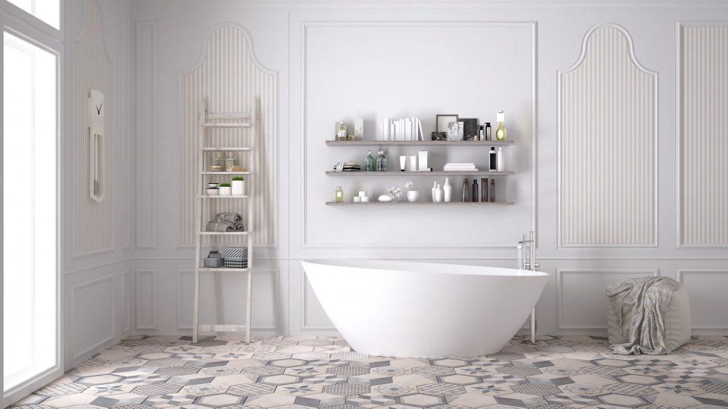 Inspiración en baños en blanco