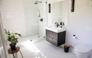 Inspiración de baños blancos