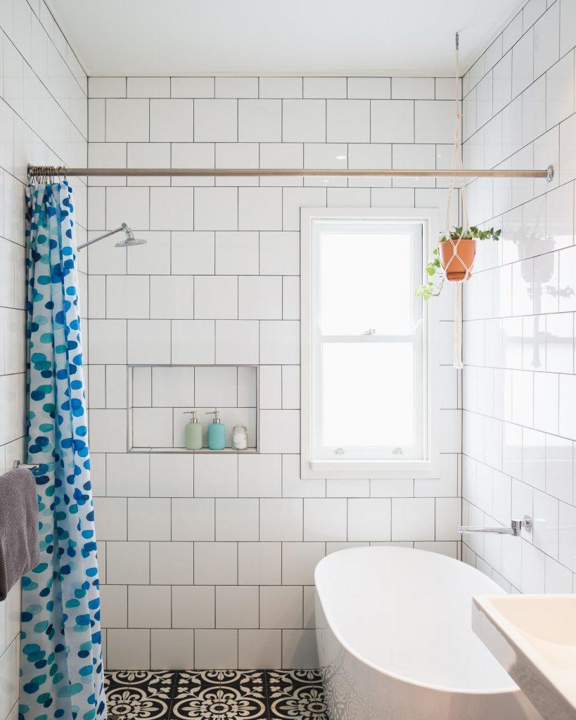 Baños en color blanco ideas