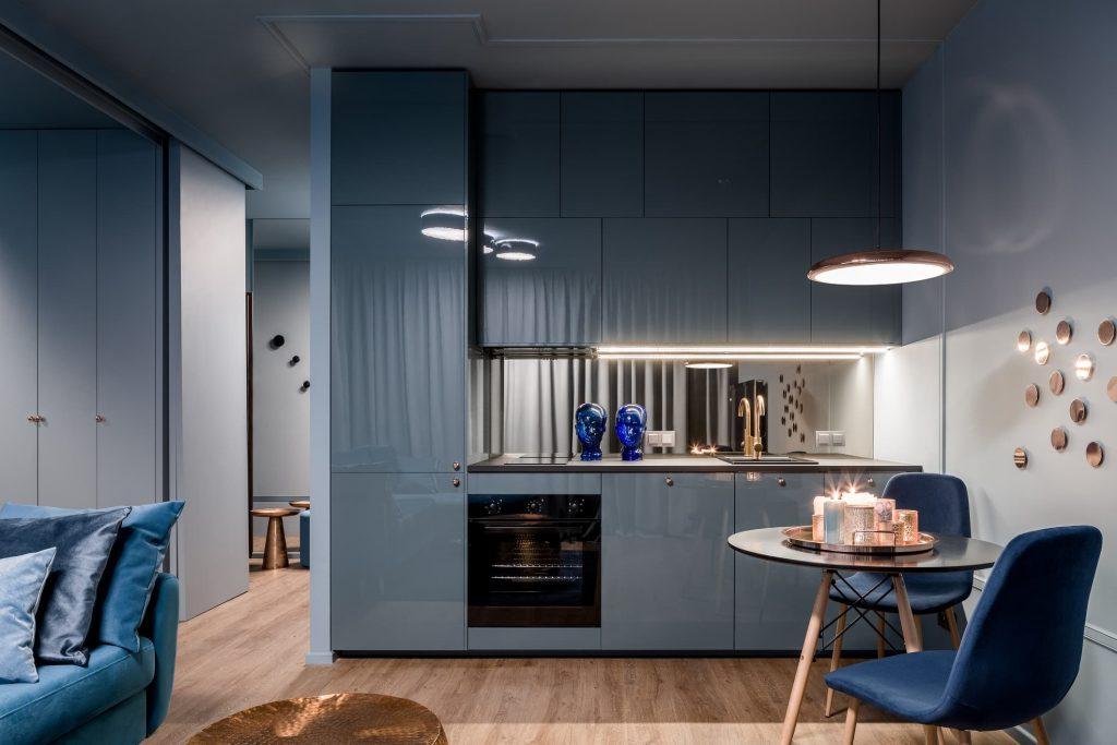 Ideas en azul y blanco para la cocina