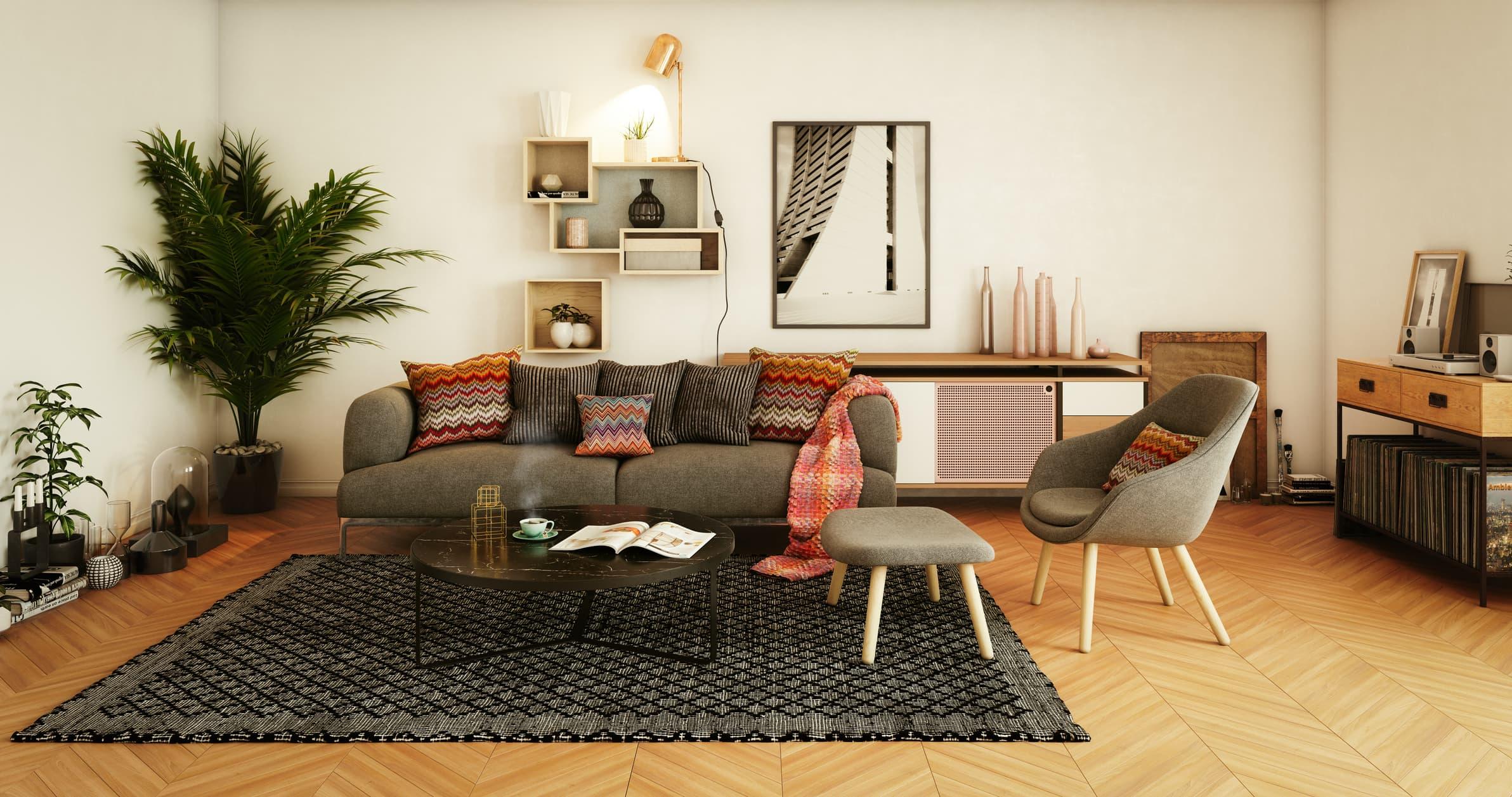 Ideas decoración para salones pequeños