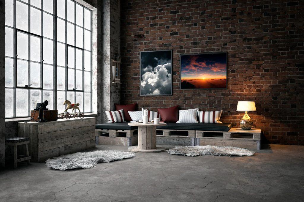Ideas de decoración industrial