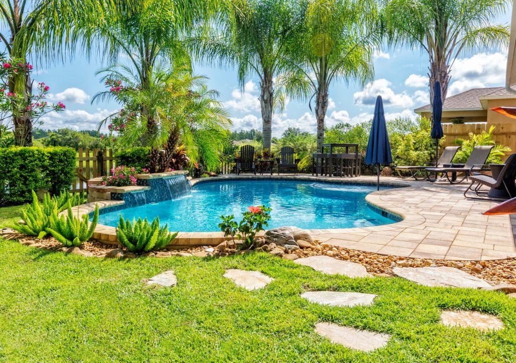 Decoración para piscinas