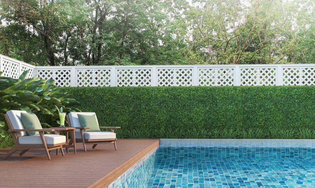 Ideas para decorar la piscina