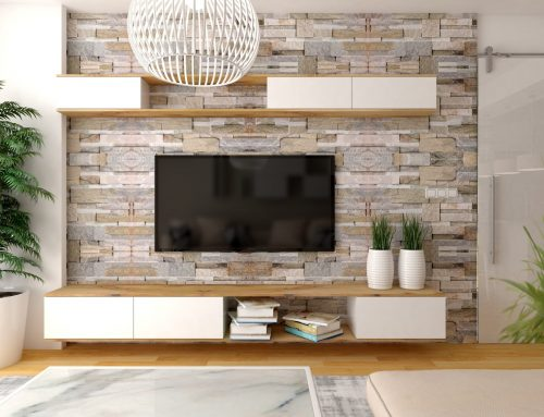 Ideas para decorar la pared del televisor en el salón