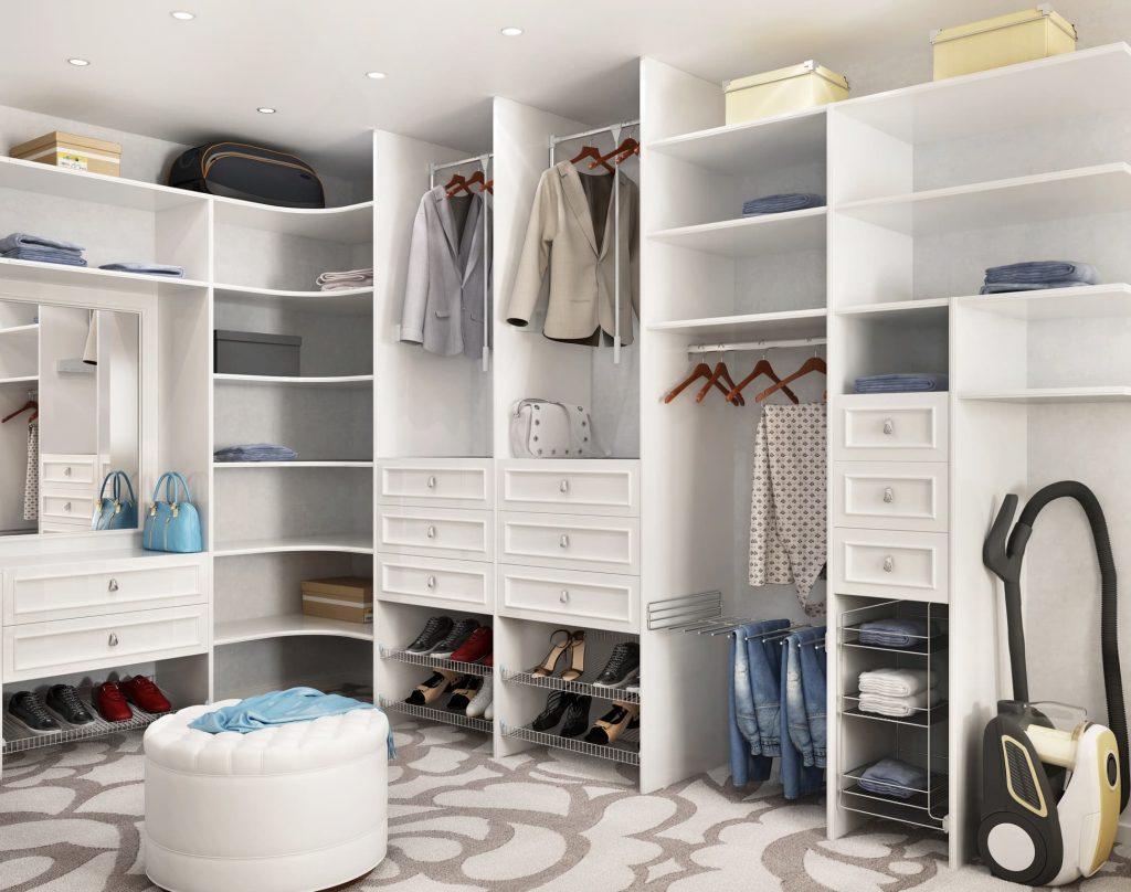 Ideas para tener un vestidor abierto