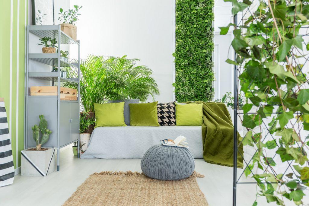 Inspiración jardín vertical interior