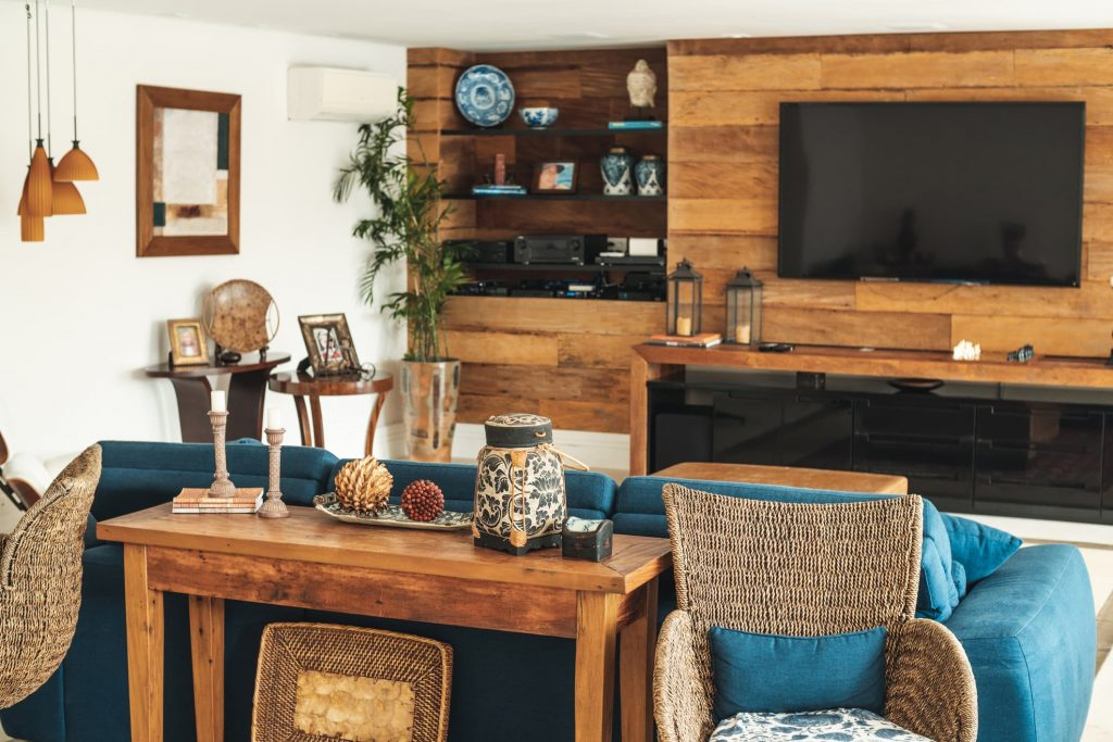Ideas de paredes de maderas salón