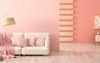 Ideas de salones pintados en dos colores