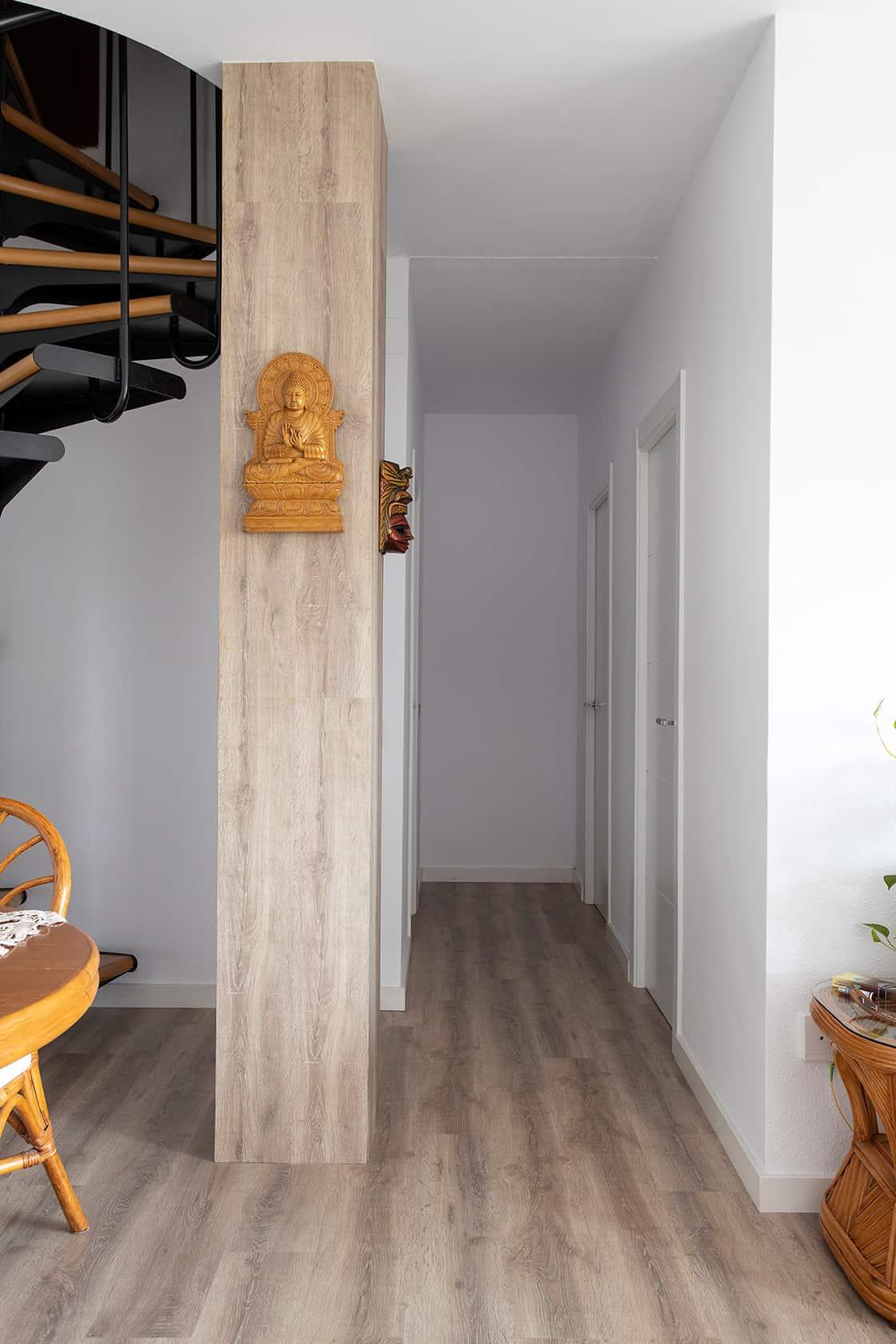 tabique en madera