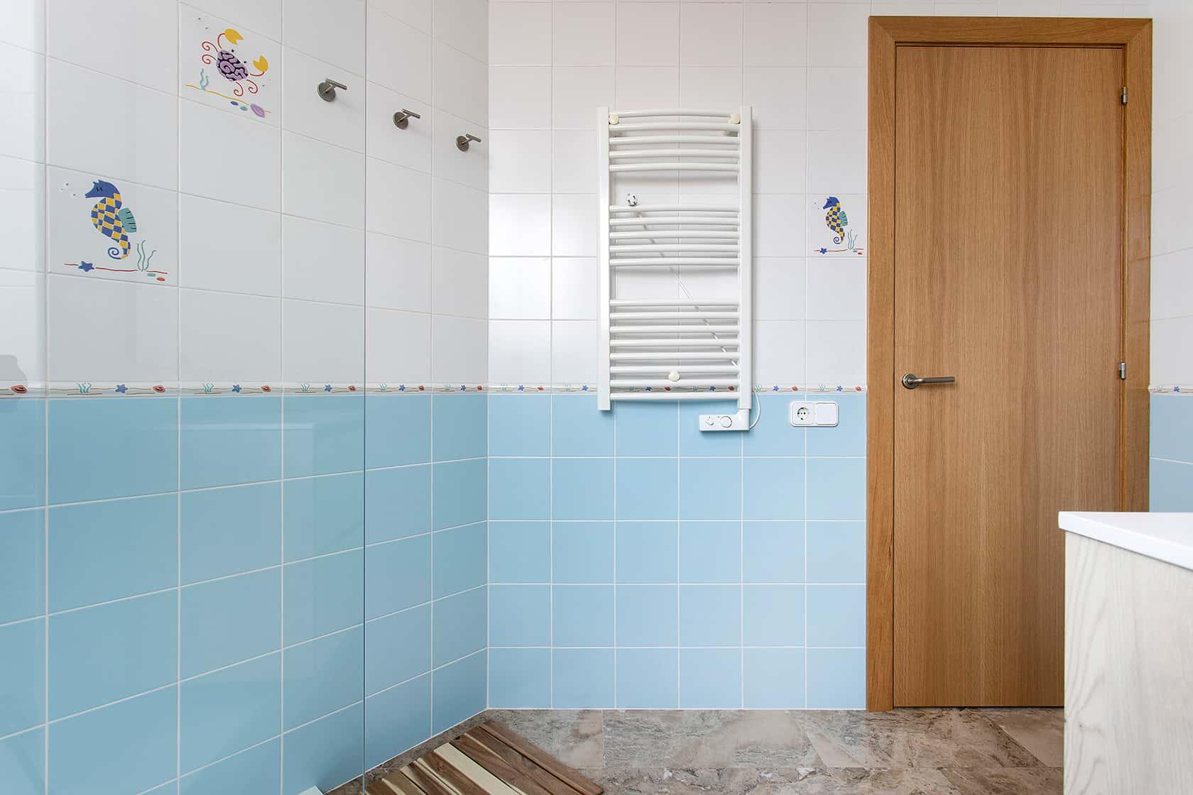 radiador de pared