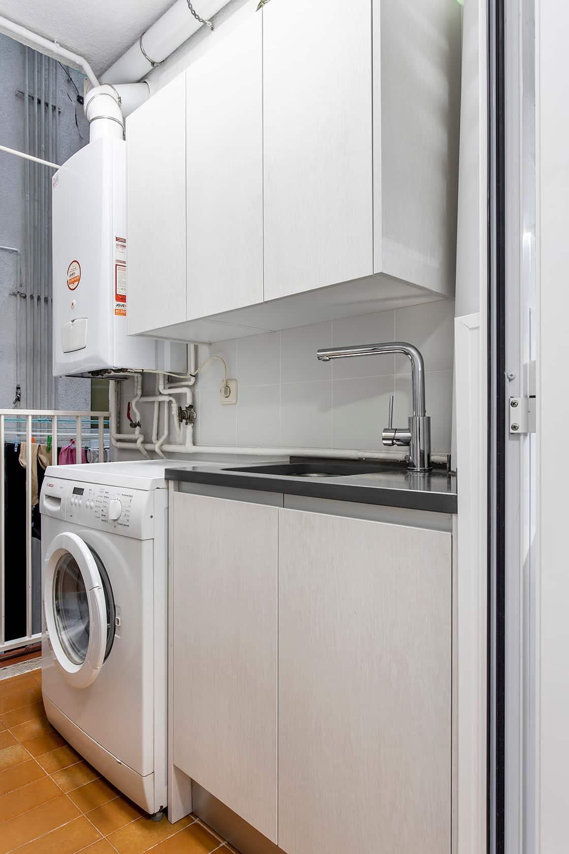 lavadero en blanco