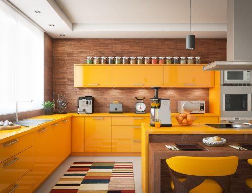 Inspiración: cocinas de colores para darle un toque alegre a tu hogar