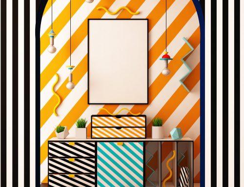 Claves para decorar tu hogar con el estilo Memphis