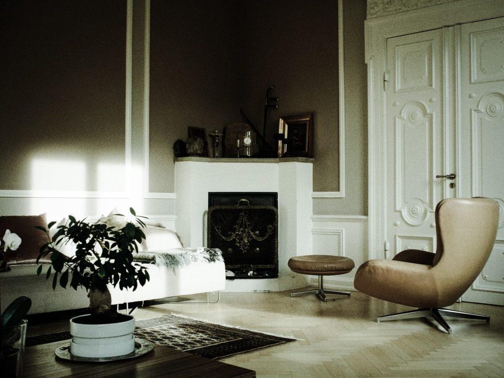 Salones con chimeneas: ideas