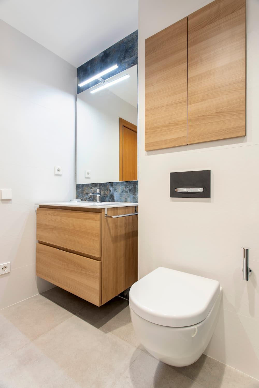 almacenamiento para baño