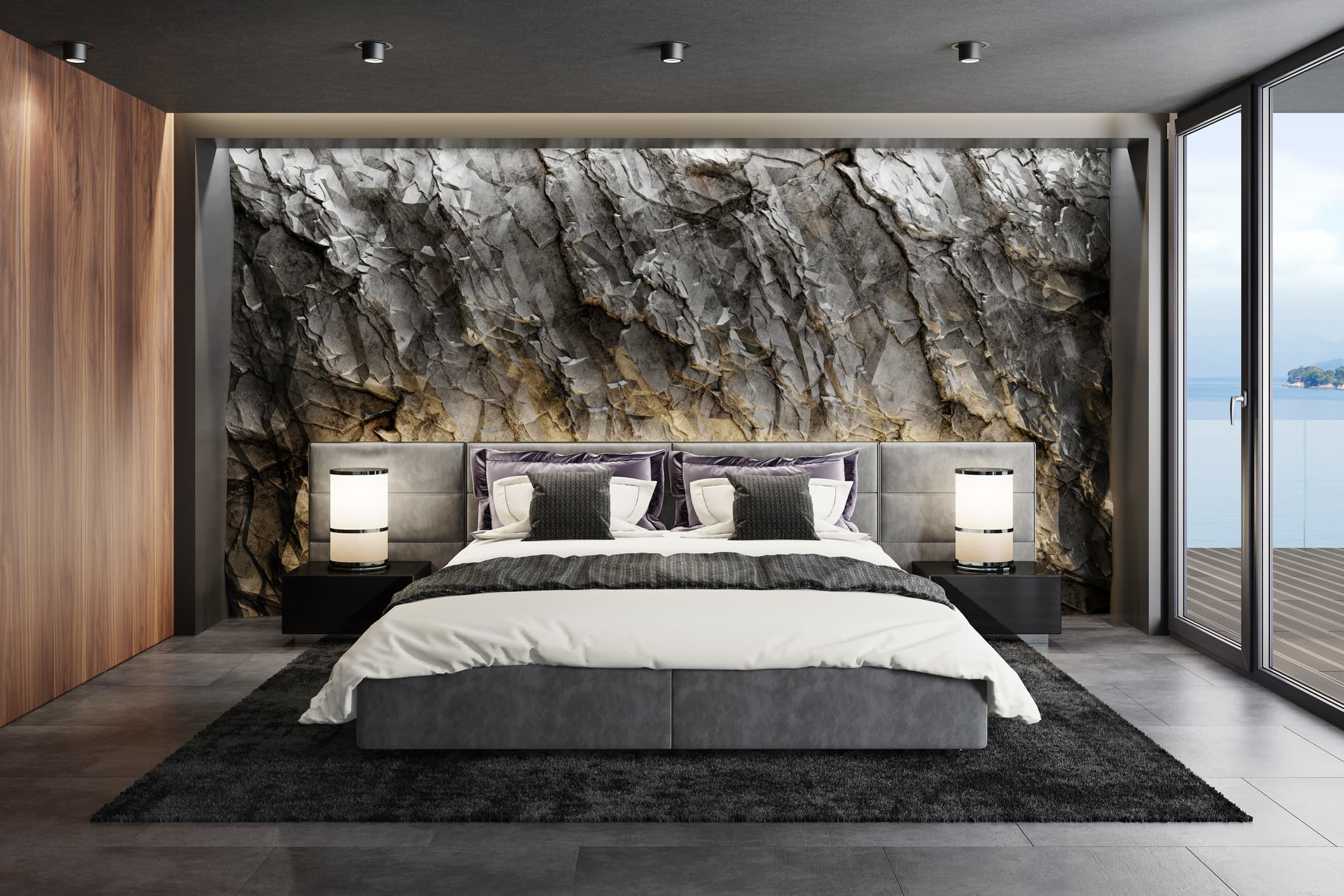 decoración habitación de lujo