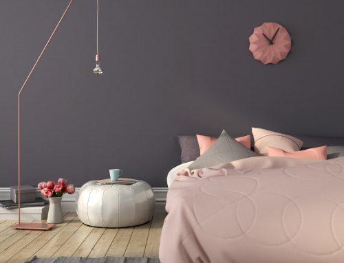Habitaciones en rosa y gris: crea un dormitorio ideal para descansar