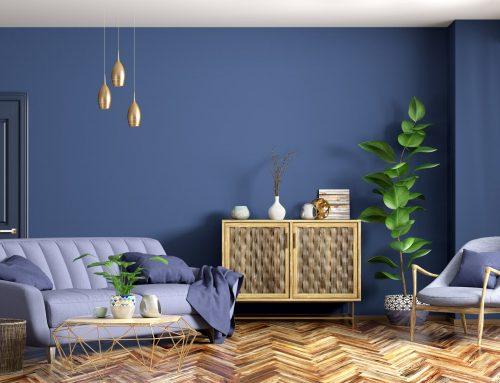 Tendencias: elige el azul para las paredes de tu hogar