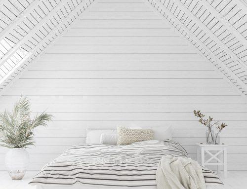 Inspiración de dormitorios en tonos blancos. ¡Ideal para relajarte!