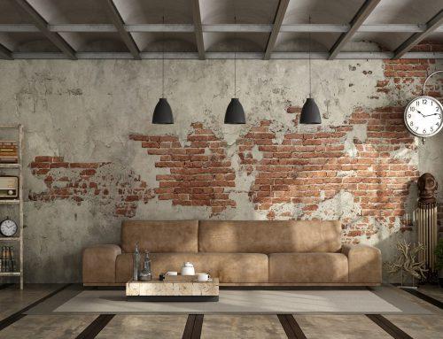 Inspiración: decoración industrial para el salón