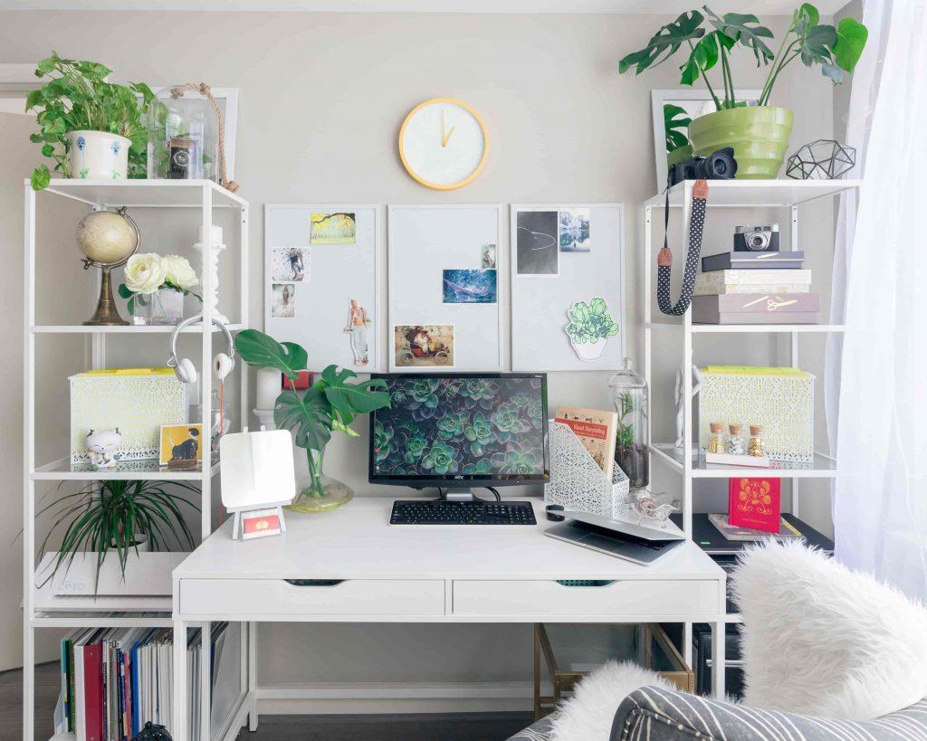 5 consejos para crear tu rincón de trabajo en el salón